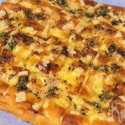 Turks brood met kaas en knoflookpeterselieboter