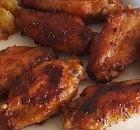 Gemarineerde kippenpootjes en vleugeltjes uit de oven