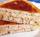 Tuna melt: een tosti met tonijn en kaas