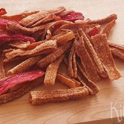 Gefrituurde surimi chips
