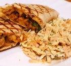 'Snelle' pulled pork wraps met coleslaw