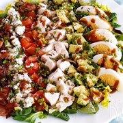 Klassieke Cobb salade – maaltijdsalade uit de VS