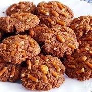 Zoute koekjes met pinda's en pepsels (glutenvrij)