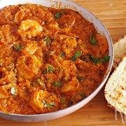 Garnalen Buzara – garnalen met tomaten, wijn en kruiden