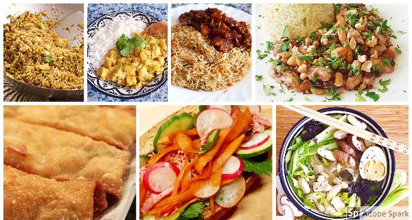 Staycation weekmenu – Waar eten we vandaag? (deel 2, Azië)