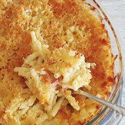 Comfort food: macaroni & cheese uit de oven