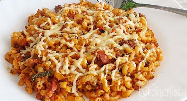 Hollandse macaroni zonder pakjes of zakjes