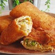 Risoles – Indonesische platte (soort van) kroketten