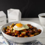 Bacon and Corn Breakfast Hash