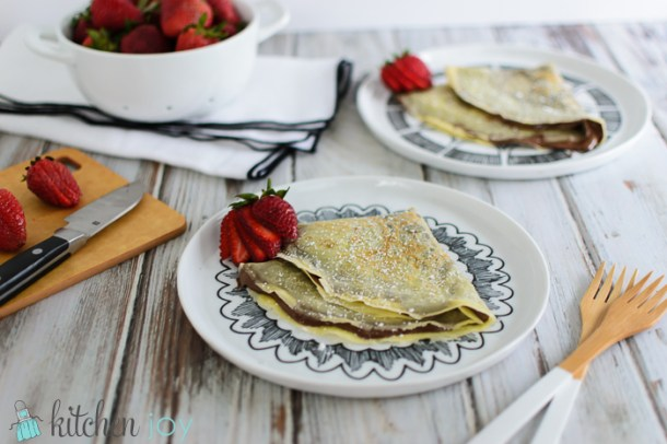French Crepes (Pâte à Crêpes)