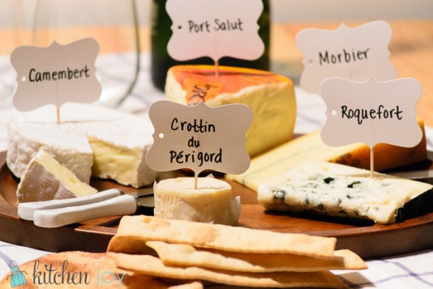 Cheese board appetizer