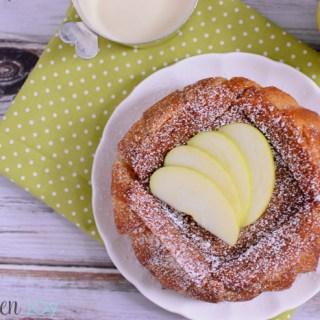 Apple Charlotte with Vanilla custard sauce, apple charlotte julia child recipe, apple charlotte downton abbey