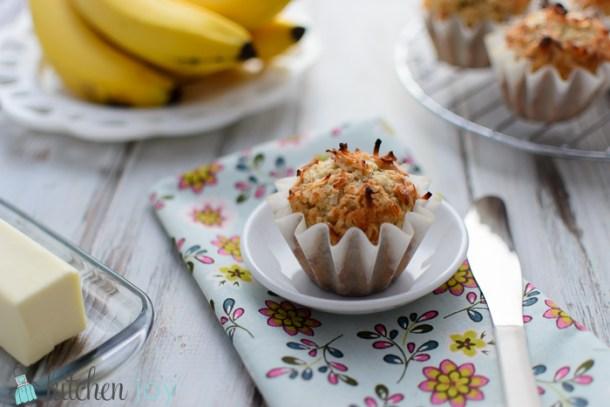 Coconut-Banana-Muffins