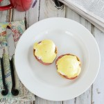 Eggs Benedict, Two Ways: Traditional and Caprese