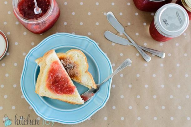 Rhubarb Raspberry Jam