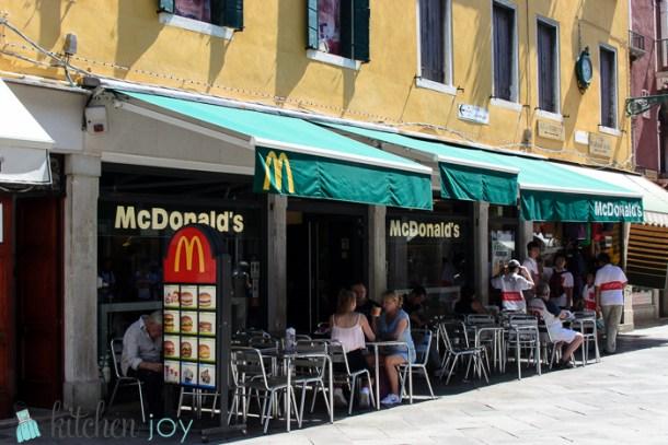 McDonald's - Venice, Italy ~ July 19, 2014