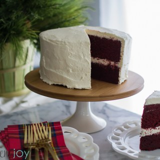 Red Velvet Cake - Kitchen Joy