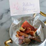 Holiday Stovetop Potpourri + Free Printable