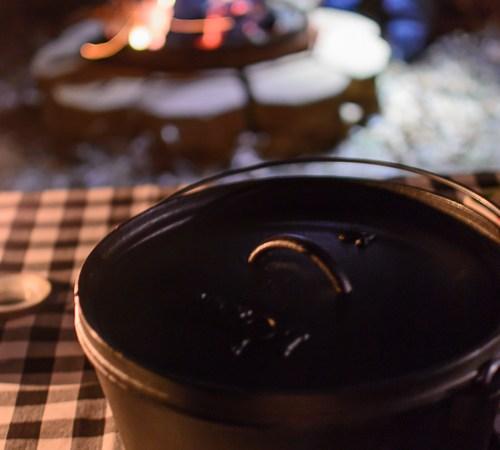 Campfire Chicken and Dumplings - Kitchen Joy