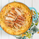 Spicy Mac and Cheese with Grilled Chicken