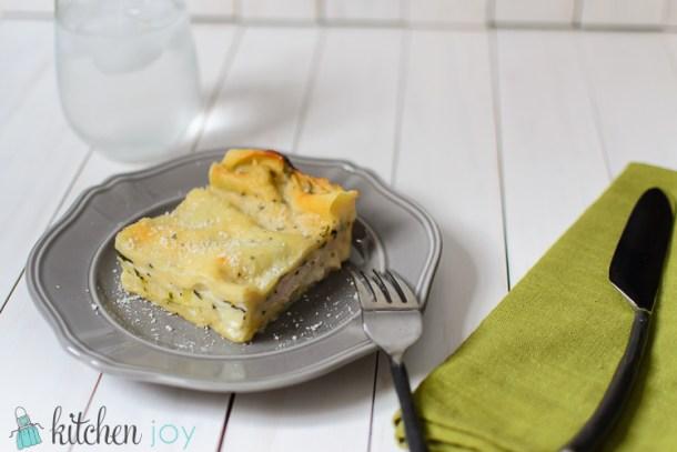 Chicken and Spinach Lasagna - Kitchen Joy