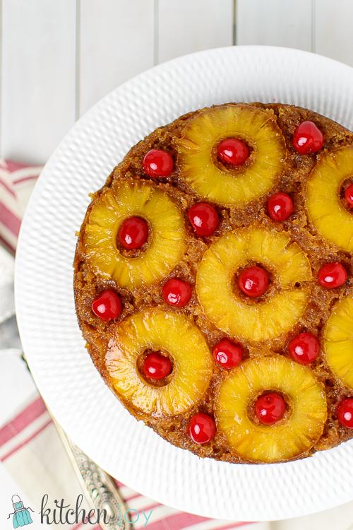 Pineapple Upside Down Cake | Kitchen Joy