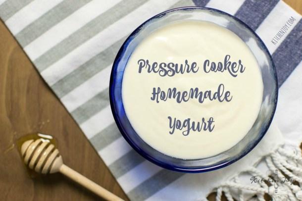 Instant Pot Pressure Cooker Homemade Yogurt