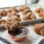 Cinnamon-Sugar Soft Pretzels with Warm Nutella Sauce (+ Kitchen Joy's 4th Birthday!)