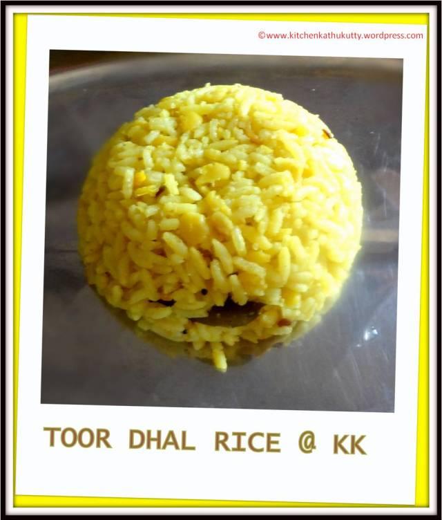 toordhal rice
