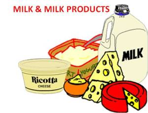 milk and milk products