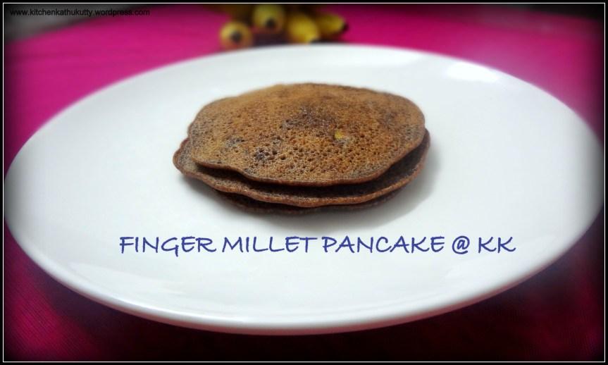 RAGI PANCAKE|FINGER MILLET PANCAKE-NO EGG NO COOKING SODA