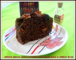 whole grain cake