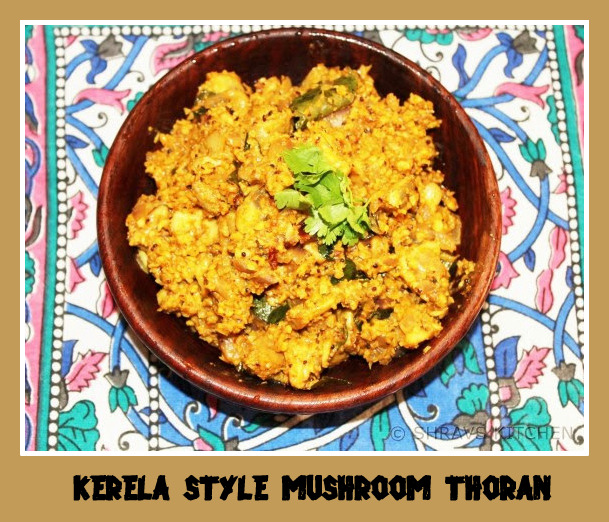 Kerela Style Mushroom Thoran