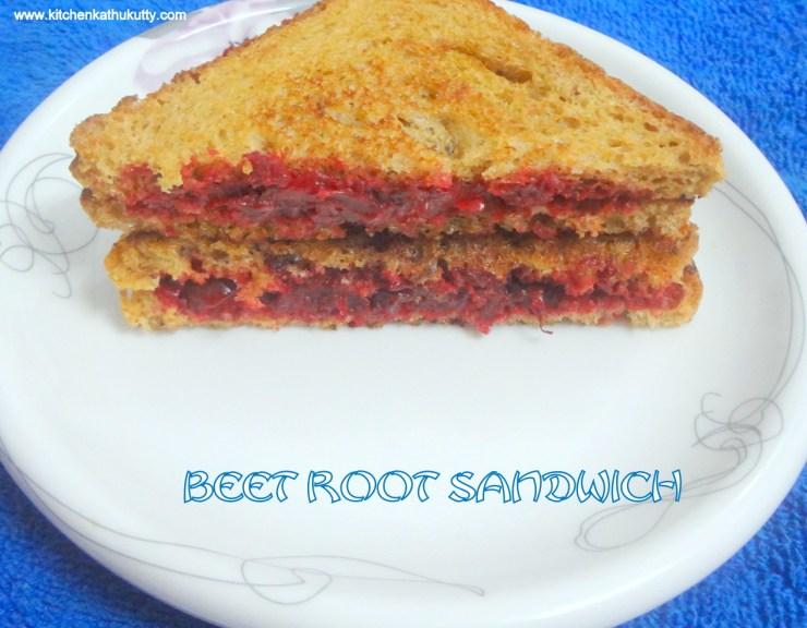 beet rrot sandwich