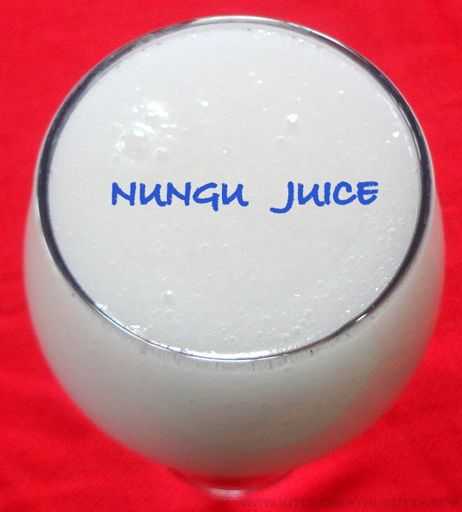 Nungu Juice|Ice Apple Juice