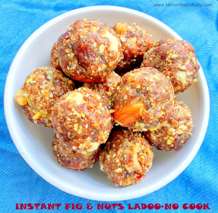 figs and nuts ladoo