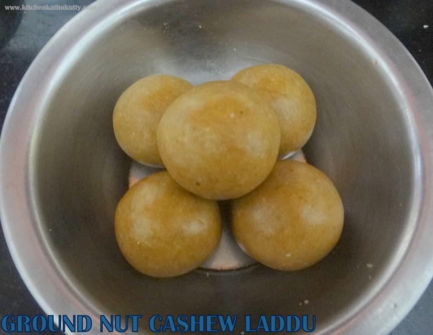 nuts laddu
