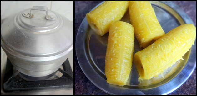 steamed nendran banana