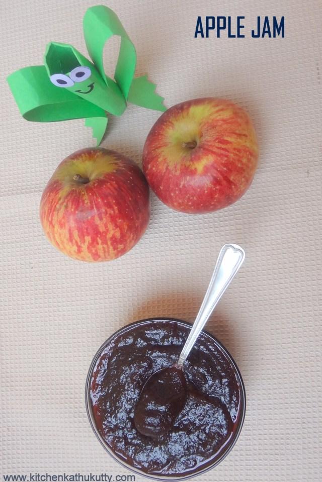 home made apple jam