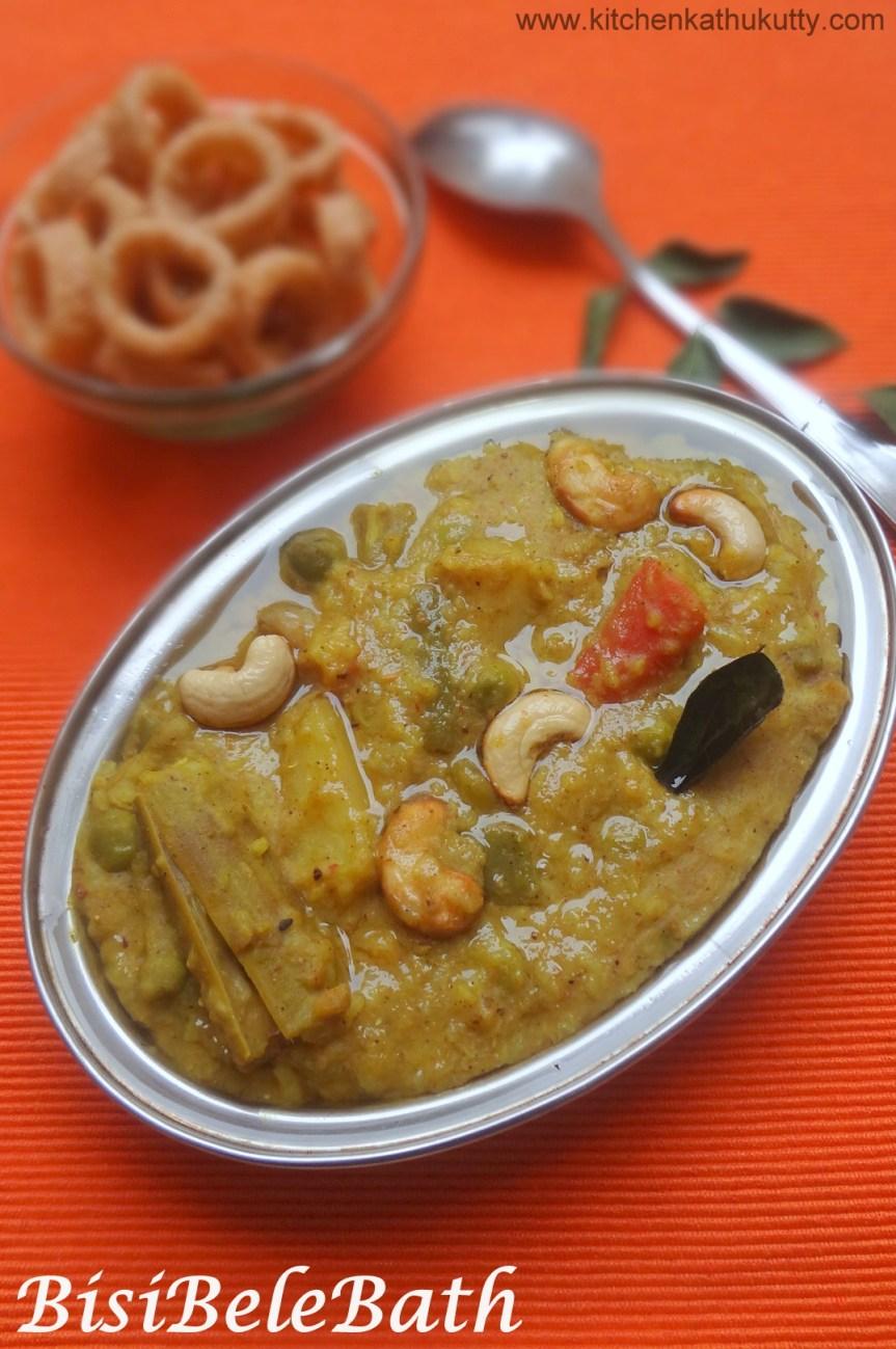 BisiBeleBath/Sambhar Sadham