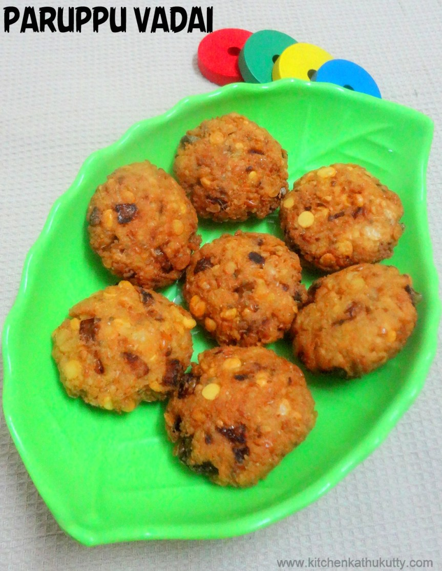 Dry Yellow Peas Fritters|Pattani Paruppu Vadai|Masala Vadai