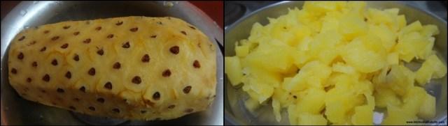 broken wheat pineapple halwa