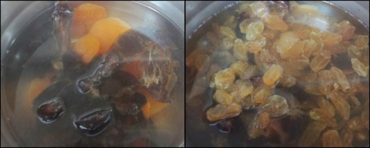 homemade mixed fruits jam