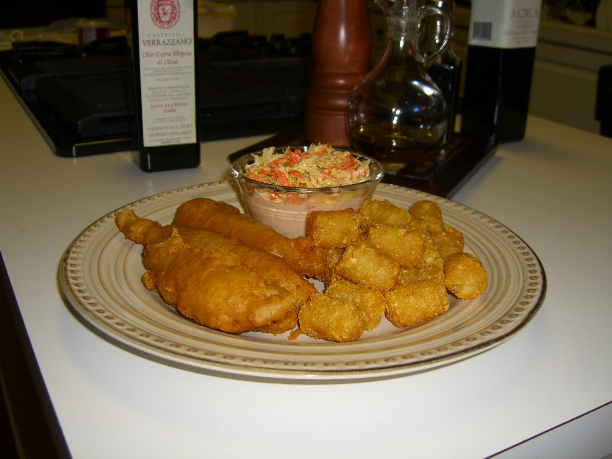 Fish Fry Plate