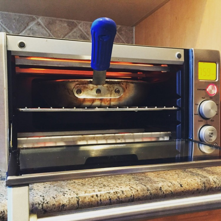 "Kitchen Hack:  A ""Cooking Salamander"" For Your Home Kitchen"