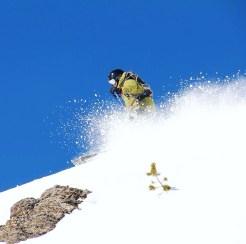 Mark Skiing in Jackson Hole