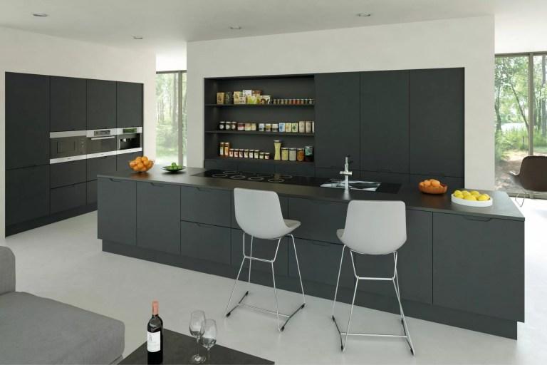 Matt Graphite Integra Kitchen scaled