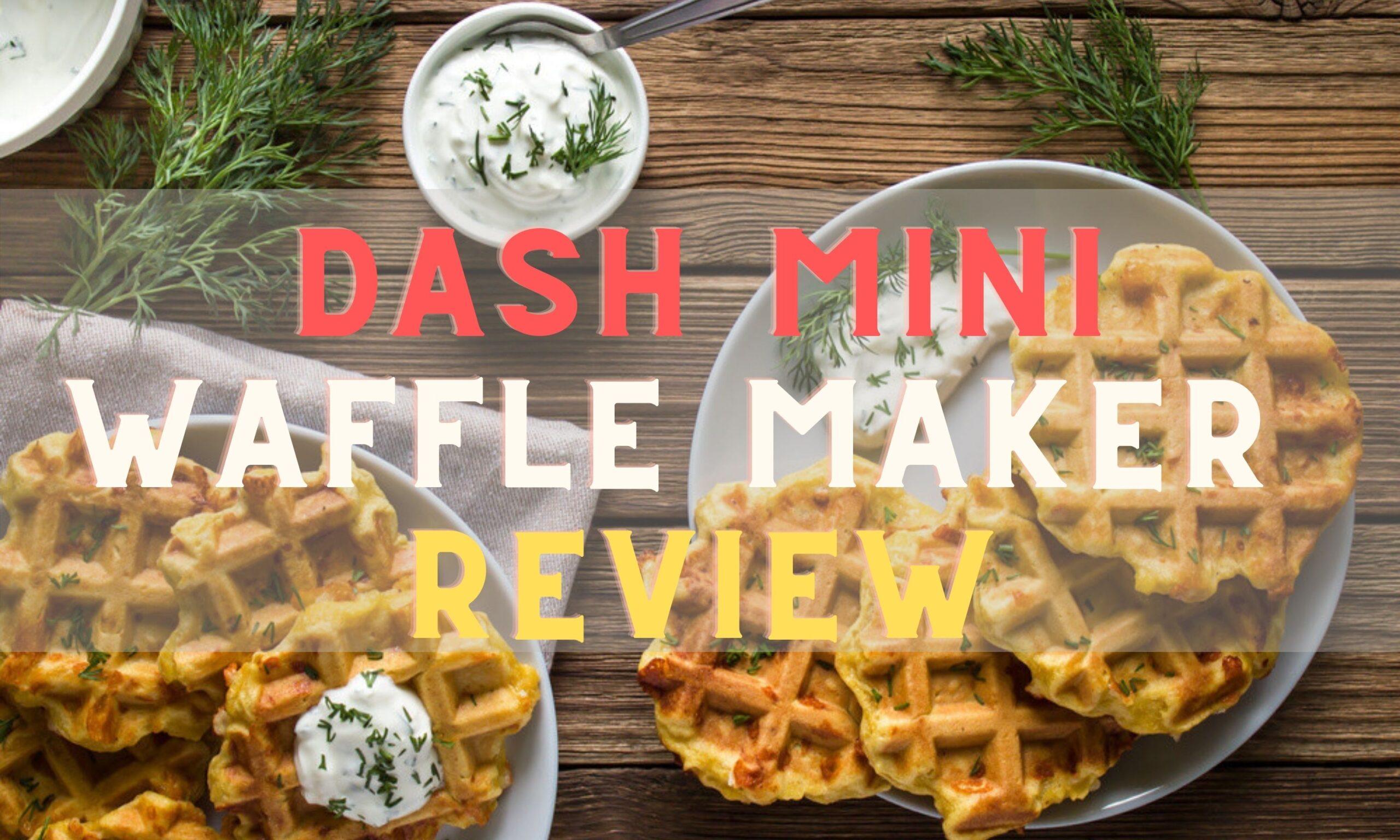 Dash Mini Waffle Maker Feature Image