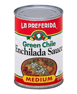 La Preferida Mexican Foods Green Chile Enchilada Sauce, Medium