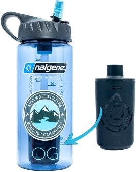 Epic Nalgene OG Water Bottle with Filter